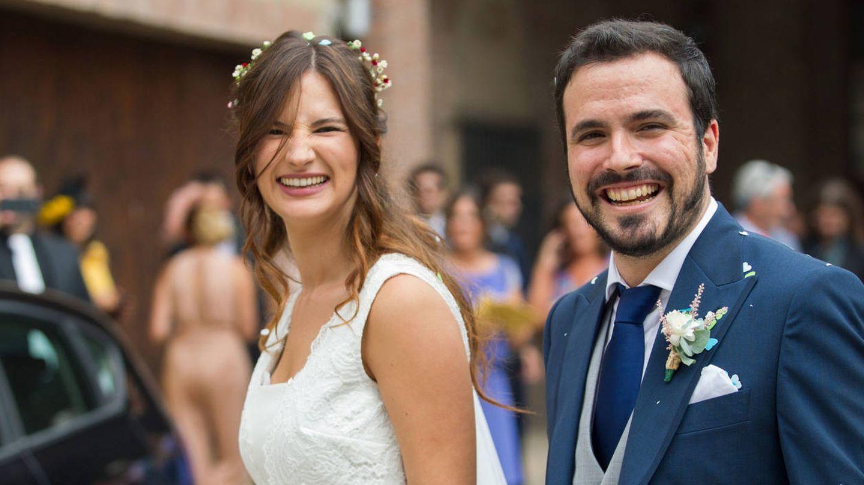 Alberto Garzón el día de su boda. (Vanitatis)
