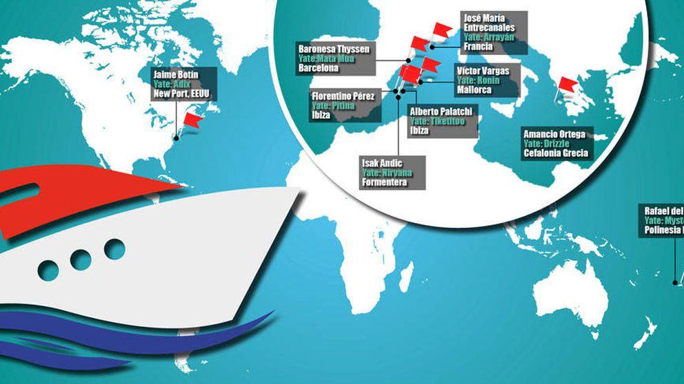 Dónde están los barcos de los vips españoles en tiempos del huracán Irma