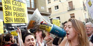 Foto: Los españoles sufren en silencio