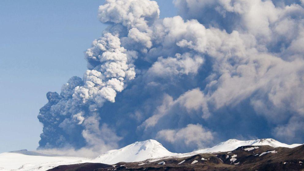 Un volcán islandés amenaza de nuevo el espacio aéreo europeo