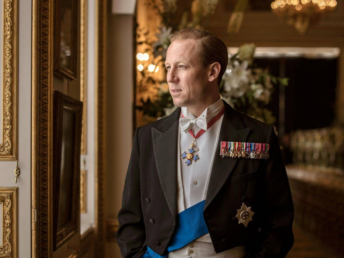 Foto: Tobias Menzies, en el papel del duque en 'The Crown'. (Netflix)