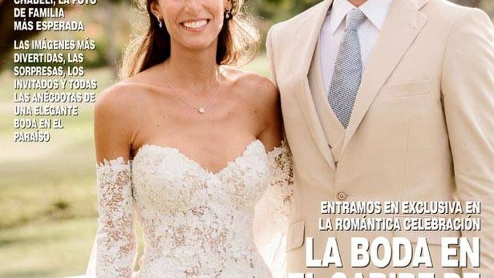 Los ocho detalles desconocidos de la boda de Ana Boyer y Fernando Verdasco
