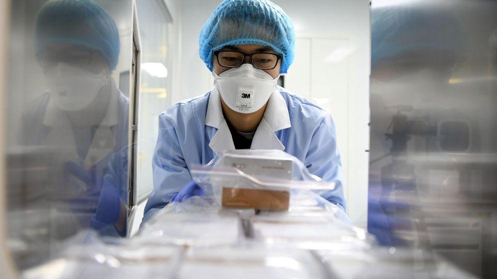 Foto: Material contra el virus de Wuhan, en China. (EFE)