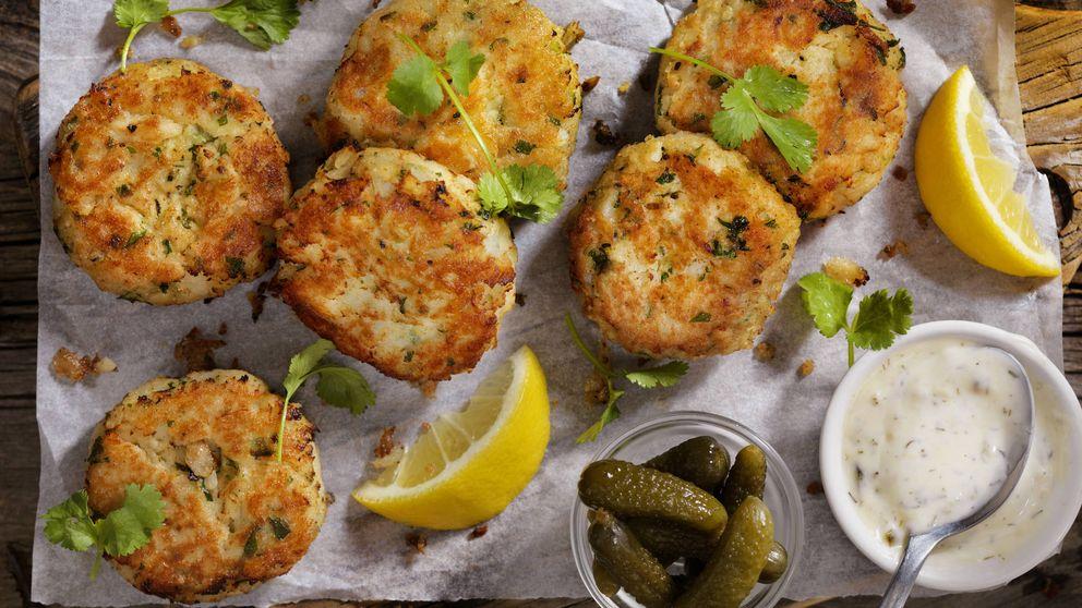 Tortitas de bacalao, una receta de aprovechamiento para quedar genial