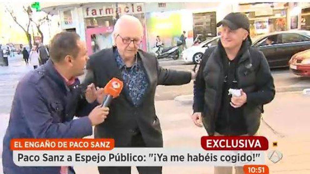 'Espejo público' pilla por sorpresa a Paco Sanz, tras salir de la cárcel