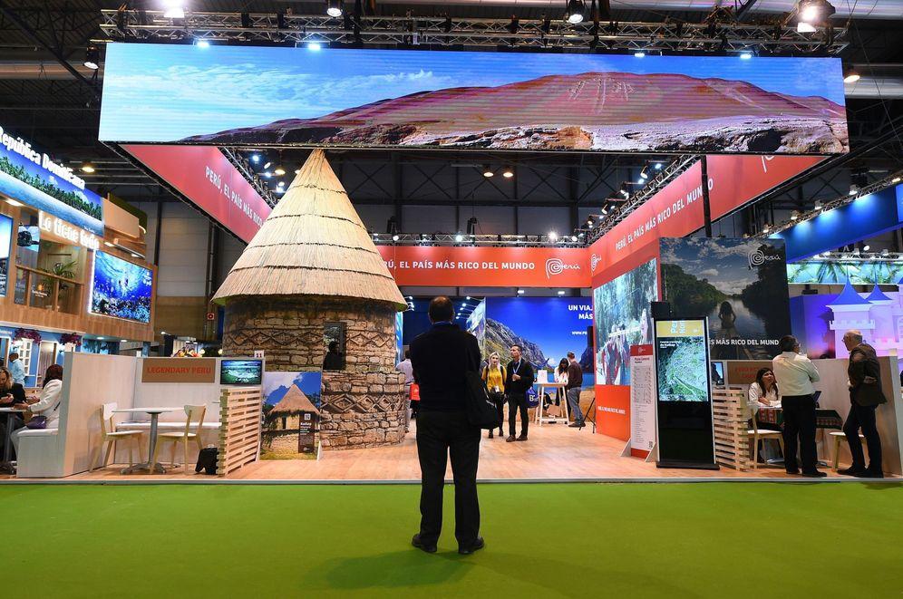 Foto: Imagen de un stand de la Feria Internacional de Turismo. (EFE)