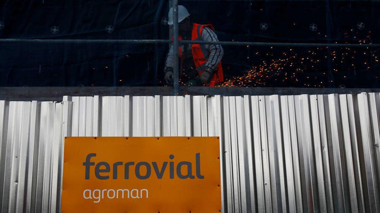 El logo de Ferrovial.