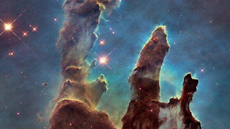 Los Pilares de la Creación. (NASA)