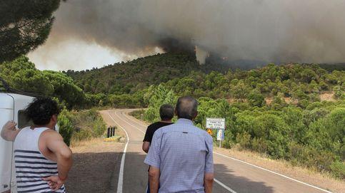 Controlado el incendio forestal de Moguer, en Huelva