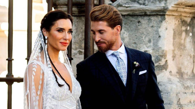Sergio Ramos y Pilar Rubio comparten fotos inéditas de su boda en su primer aniversario