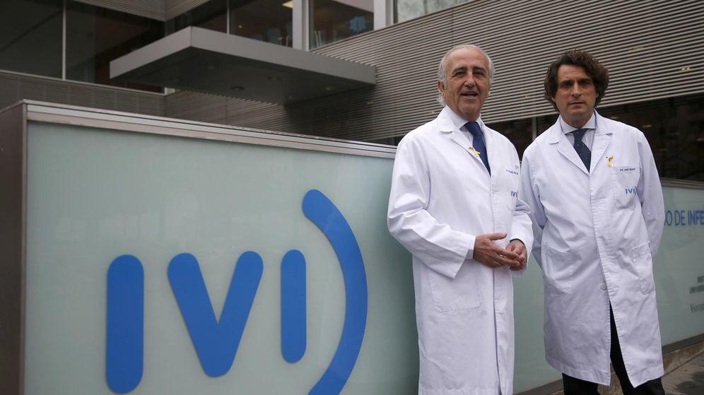 Foto: Los propietarios del IVI, Antonio Pellicer y José Remohí. (EFE)