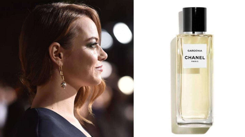 Emma Stone es fiel de Gardénia Eau de Parfum de Chanel.