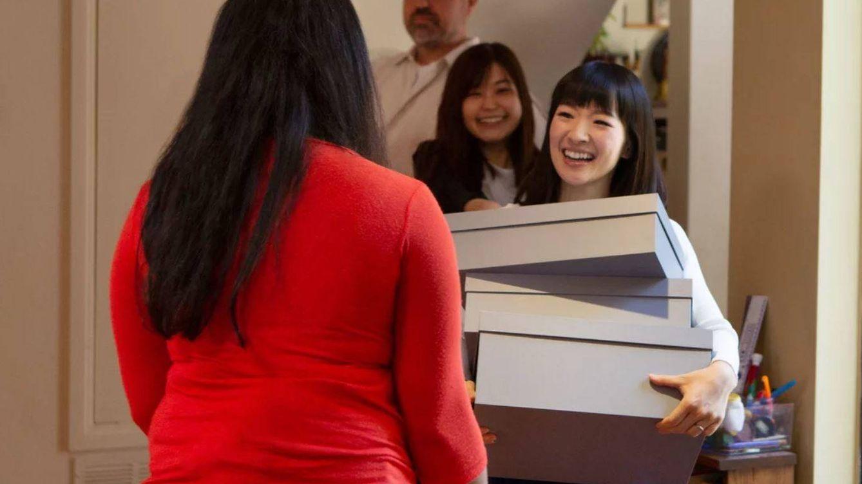 Método Marie Kondo: cajas, estanterías y otras maneras de ordenar después de doblar