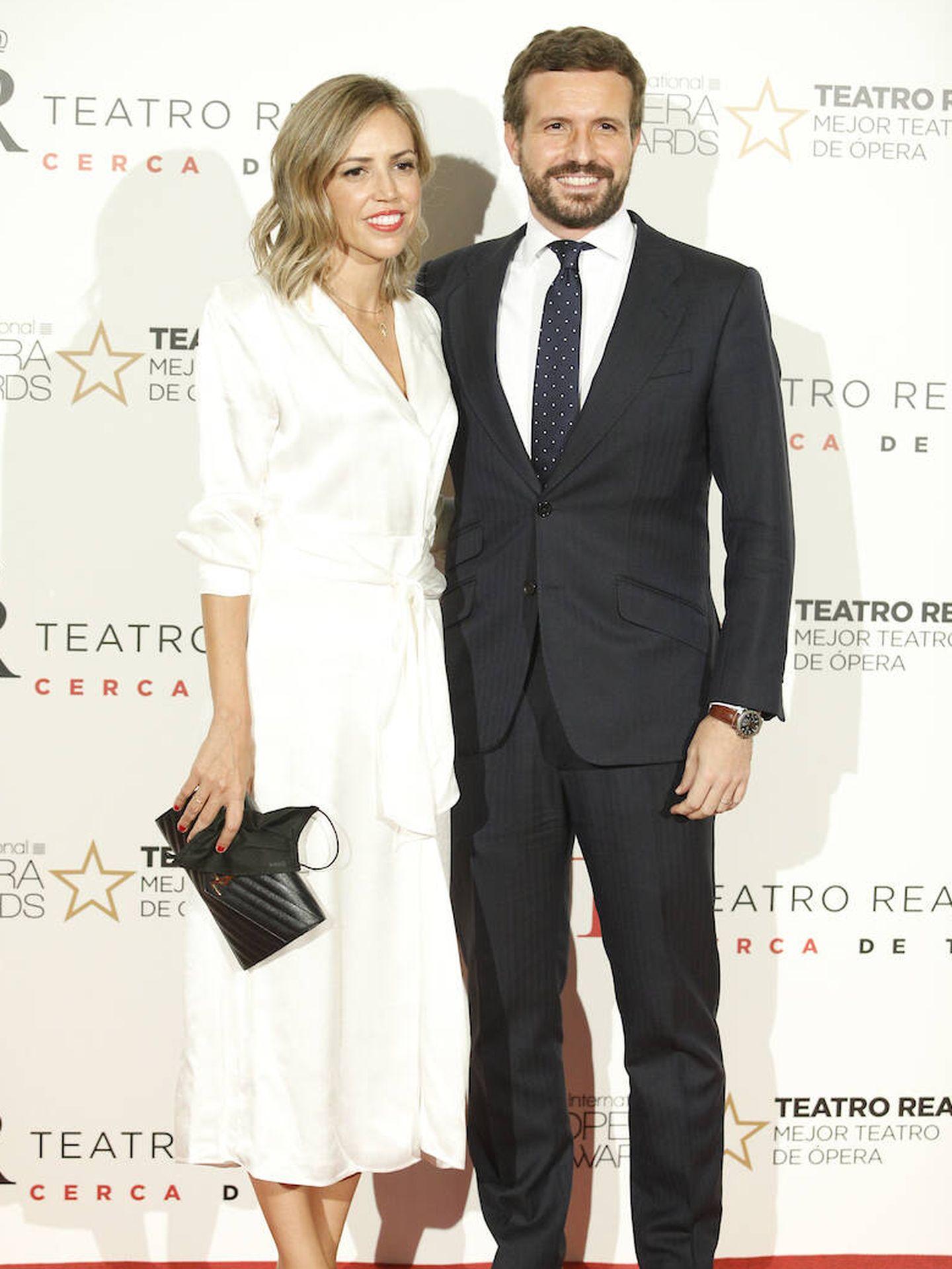 Pablo Casado y su mujer, Isabel Torres. (LP)
