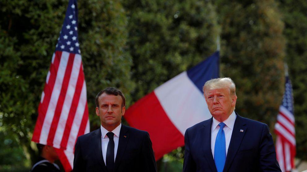 Macron: EEUU nunca ha sido más grande que al pelear por la libertad de otros