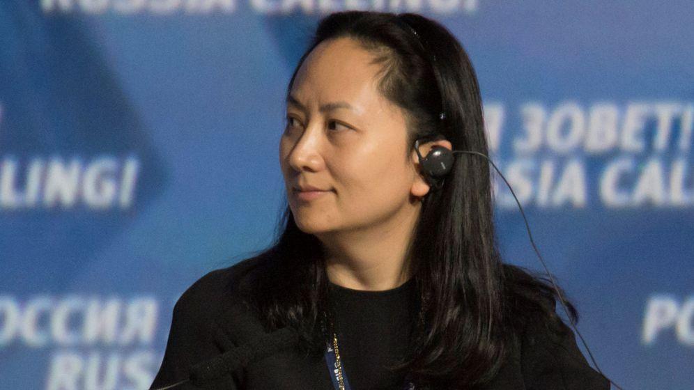 Foto: La directiva de Huawei, Meng Wanzhou, en una foto de archivo. (EFE)