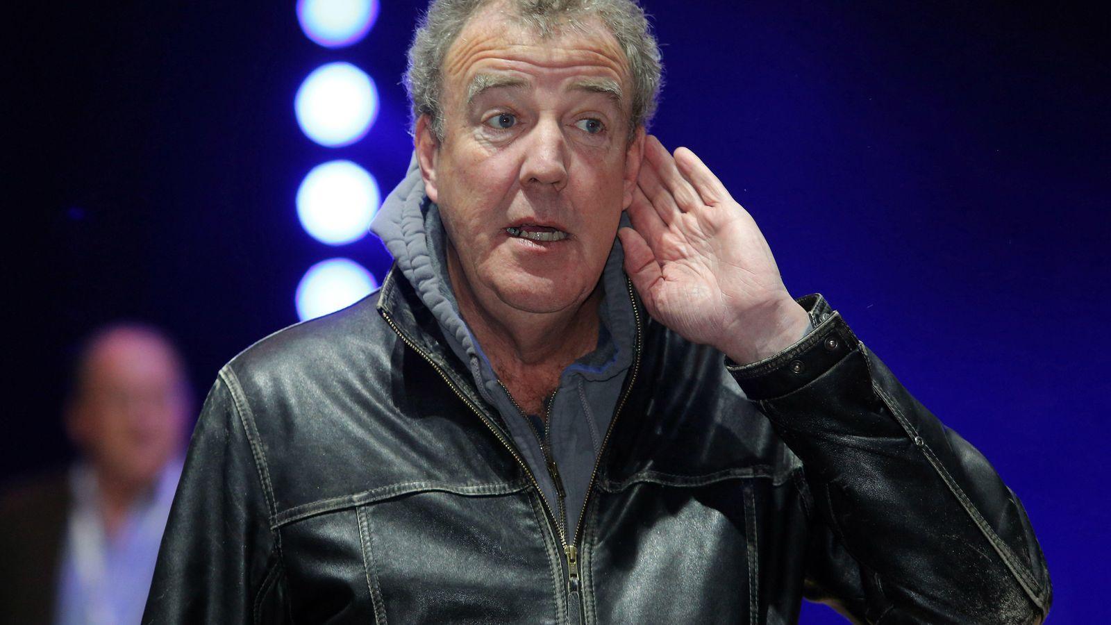 Foto: El presentador británico Jeremy Clarkson (Andrey Pronin/NurPhoto/Corbis)
