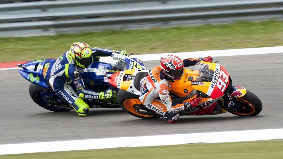 Márquez y una remontada con la que poner la puntilla a Rossi