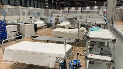 Madrid espera abrir el lunes un nuevo pabellón del hospital de campaña de Ifema