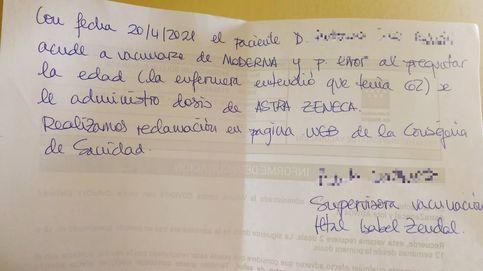 Las catastróficas desdichas de un madrileño de 72 años vacunado con AstraZeneca por error