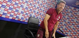 Post de El Cholo Simeone aún no da por cerrada la actual plantilla del Atlético de Madrid