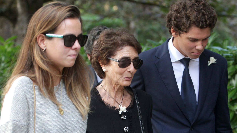 Paloma O'Shea, con sus nietos. (EFE)