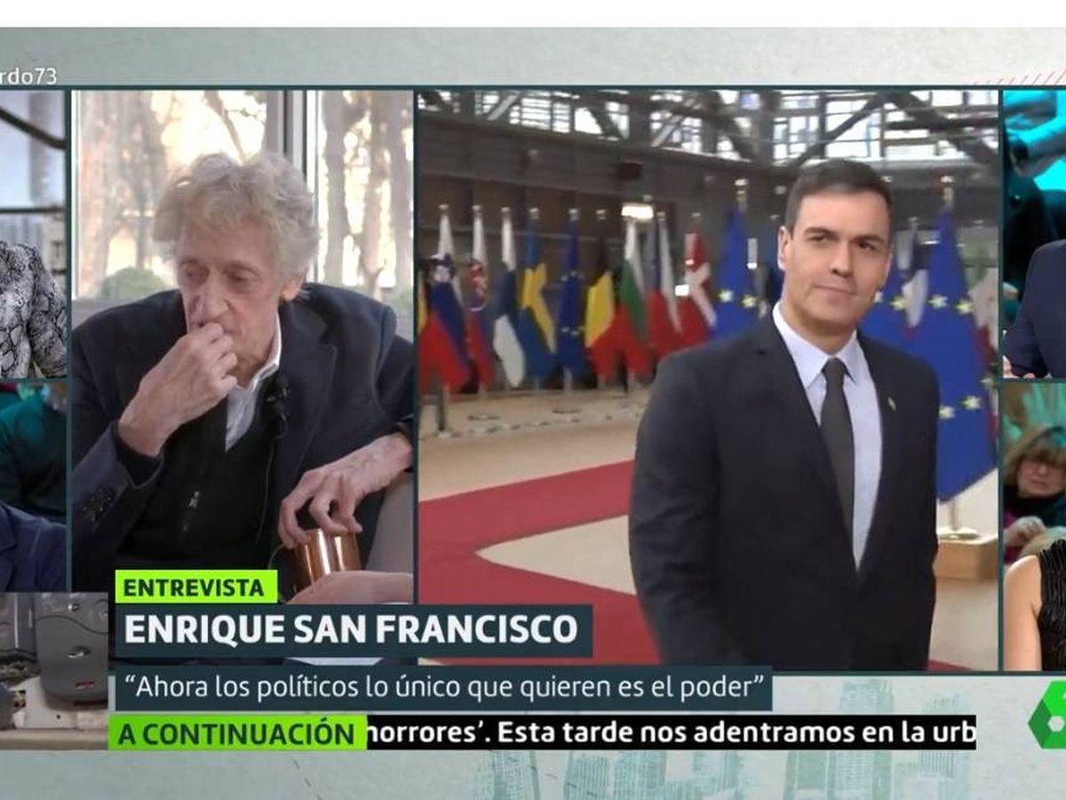 Foto: Enrique San Francisco, en 'Liarla Pardo'. (La Sexta).
