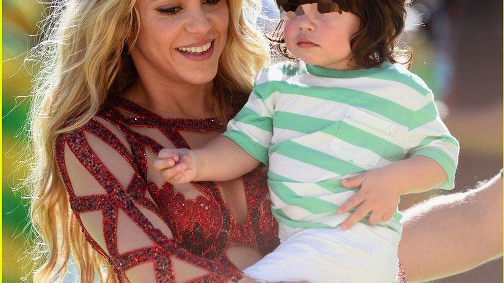 Shakira enseña a leer a su hijo Milan y lo enseña en Instagram