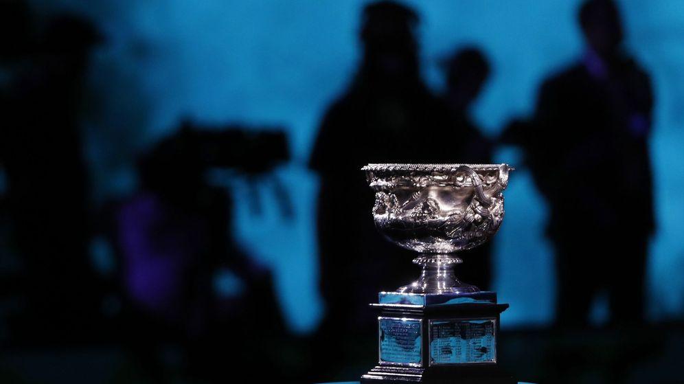 Foto: Trofeo del Open de Australia. (Reuters)