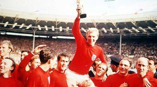 Hace cincuenta años ya desde la única vez que Inglaterra fue campeona