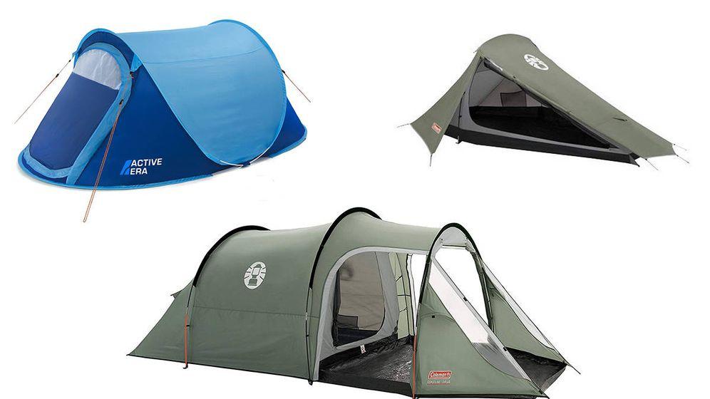 Foto: Las mejores tiendas de camping. Foto: Amazon