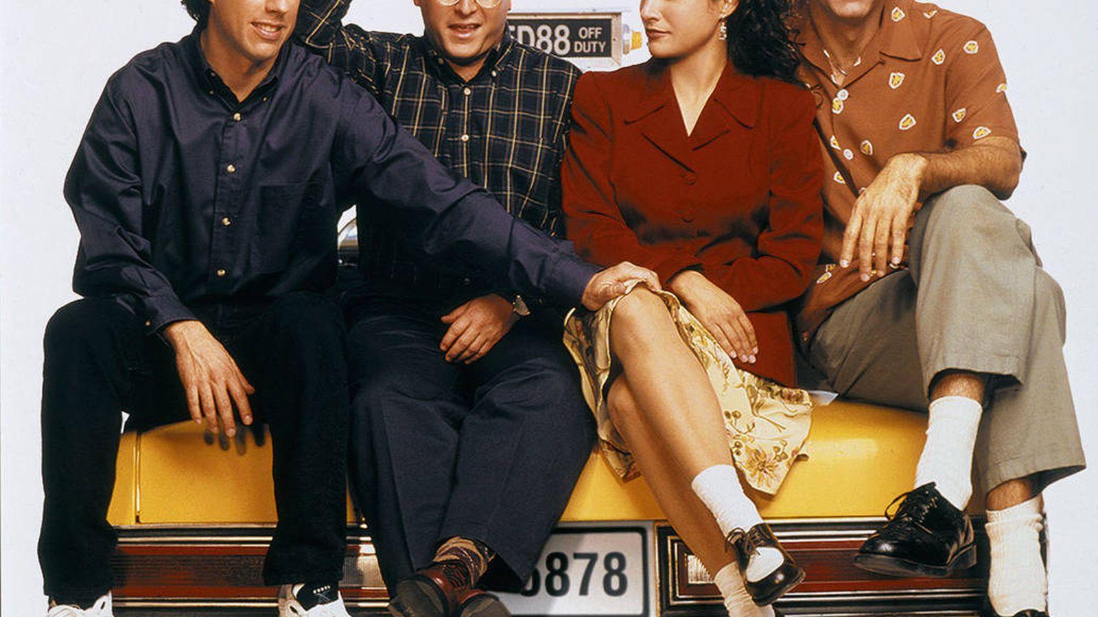 Foto: Los personajes de 'Seinfeld' en una foto promocional