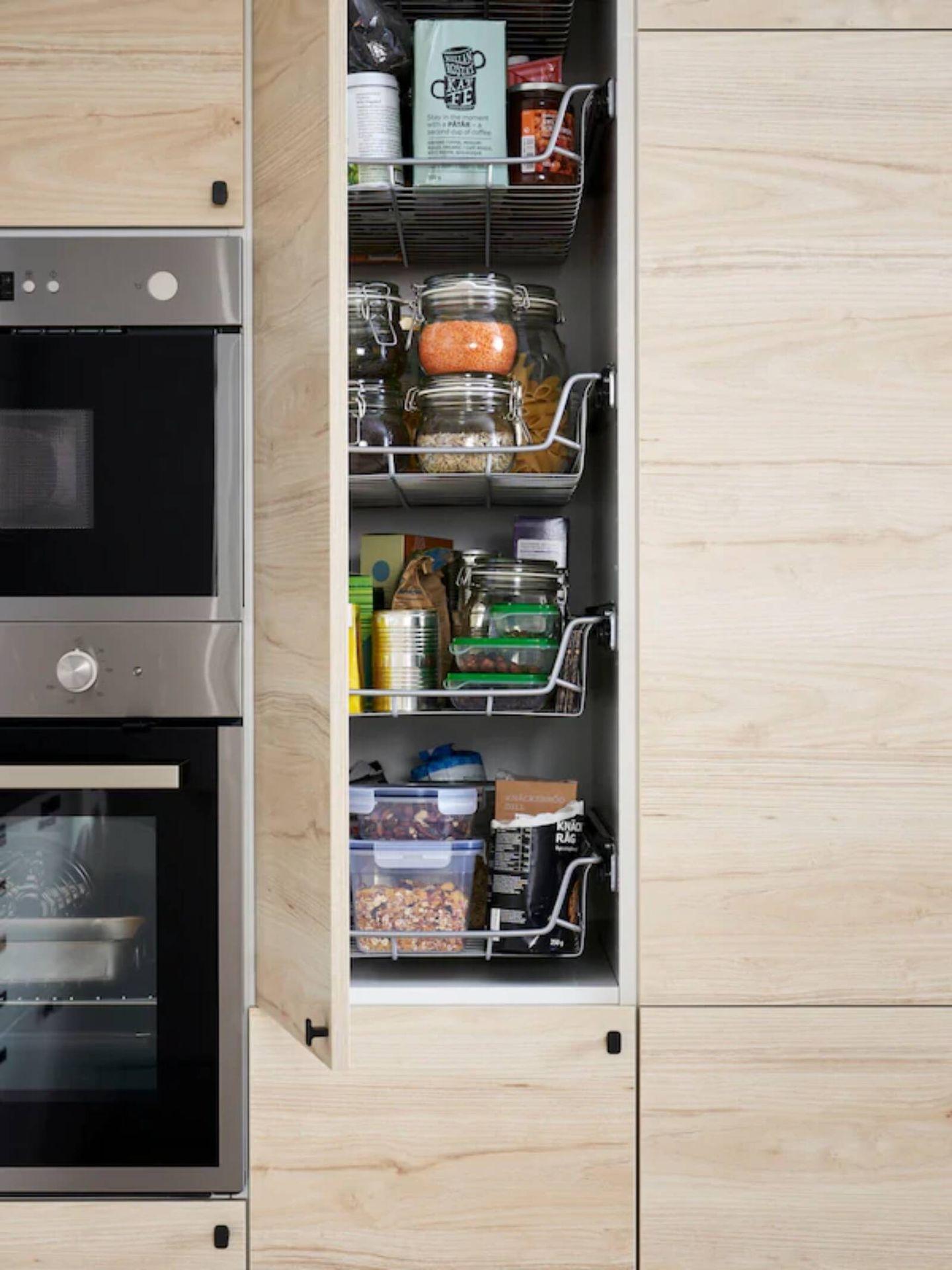 Ideas de Ikea para cocinas ordenadas. (Cortesía)