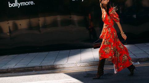 En el outlet de Bimba y Lola tienes el vestido cruzado para un efecto cuerpo 10