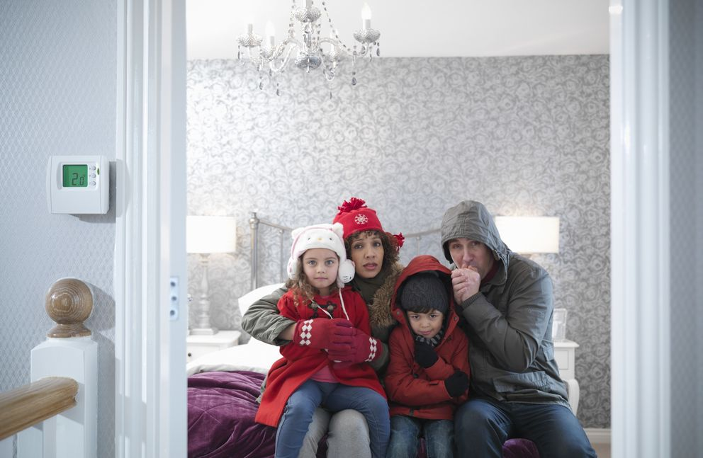 De 200 a as var a el gasto medio en calefacci n - Temperatura calefaccion invierno ...