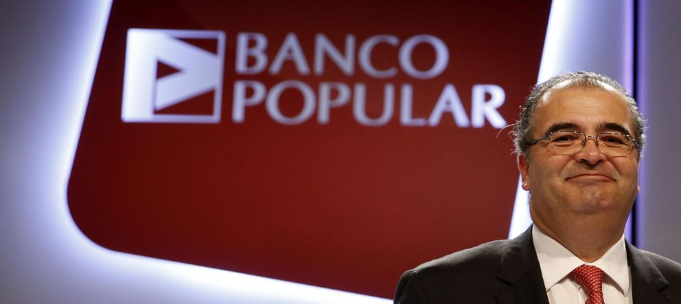 Foto: El presidente del Banco Popular, Ángel Ron. (EFE)