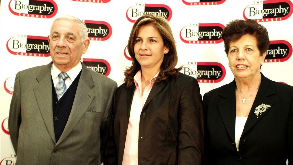 Arantxa Sánchez Vicario viajará a Barcelona este viernes tras el fallecimiento de su padre