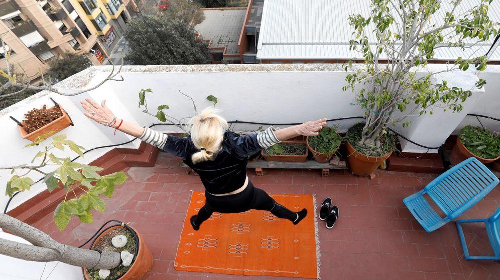 Foto: Las terrazas y garajes de casa: los nuevos sitios para hacer deporte