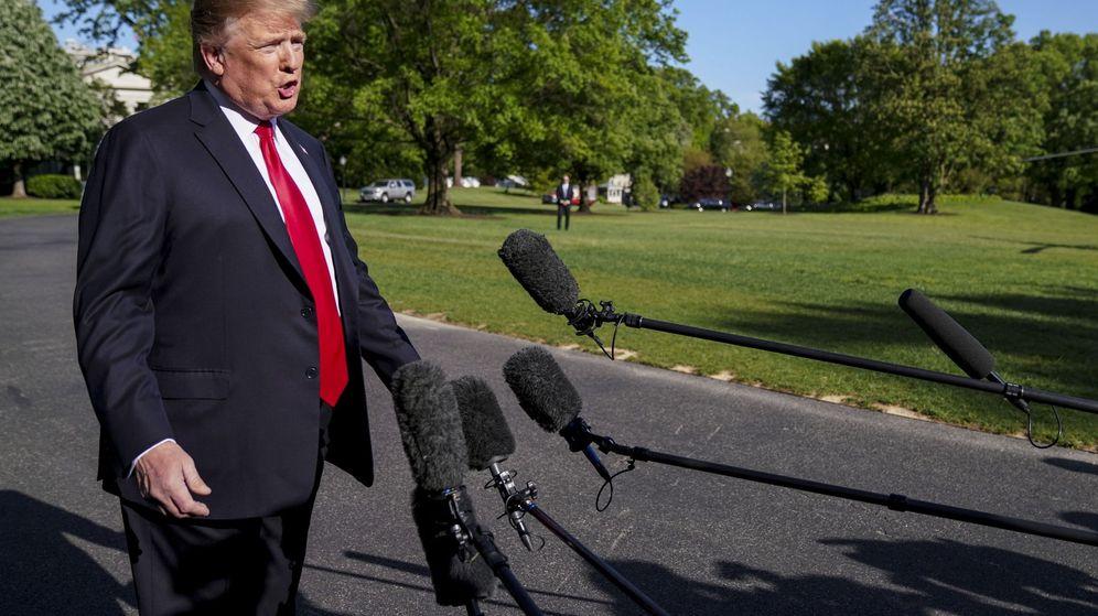 Foto: Trump pide a los estadounidenses que se vacunen, el pasado viernes 26 (Reuters)