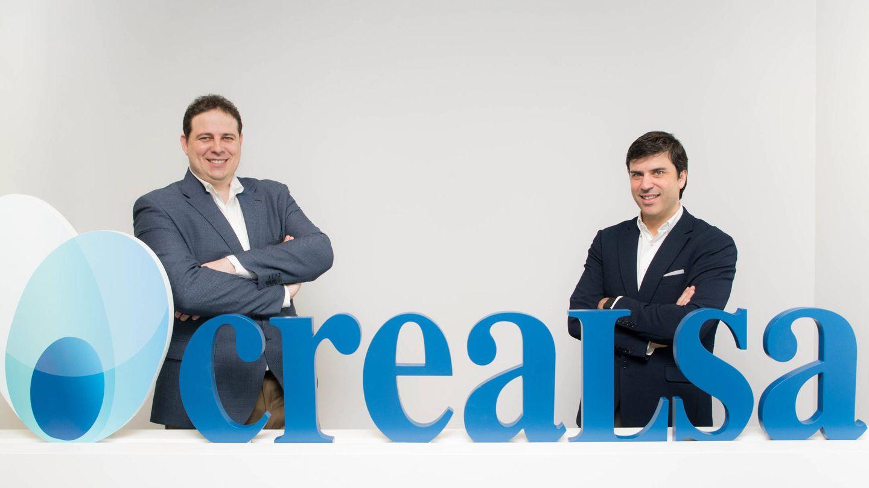 Los fundadores de Crealsa, José Molina y Javier Chibert