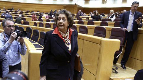 Barberá llega al Senado en medio de la polémica: No me quiero esconder