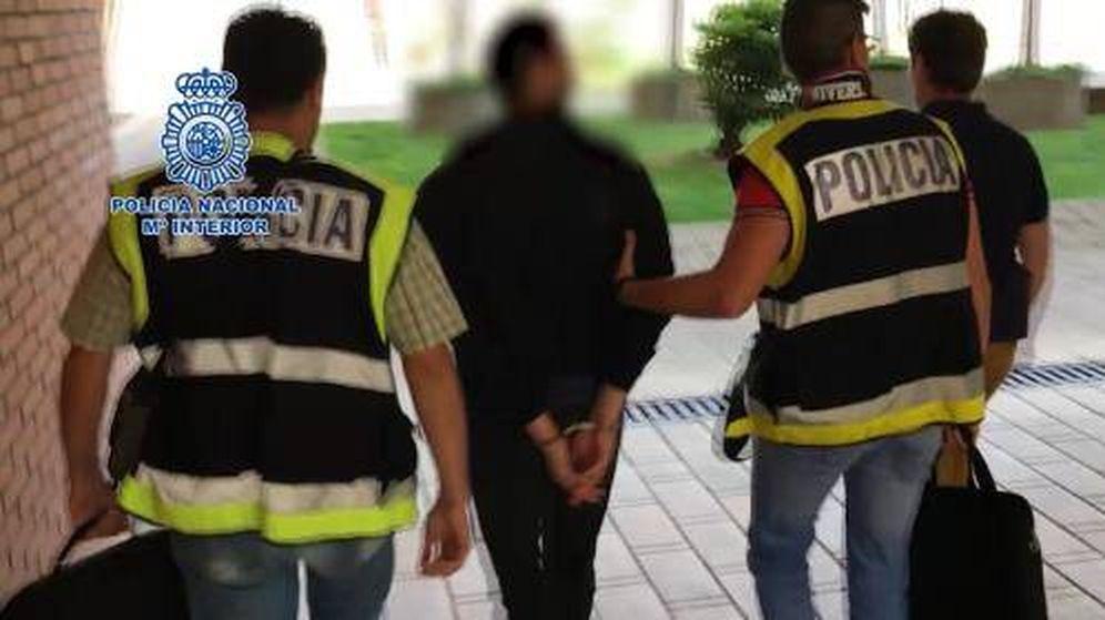Foto: El hombre detenido por la Policía. (EP)