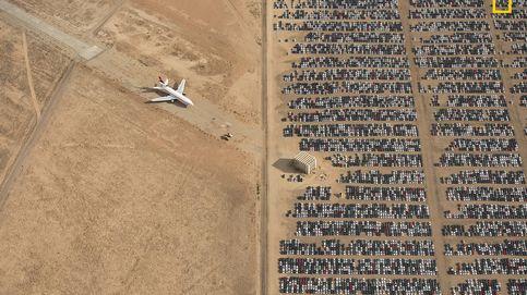 National Geographic elige la mejor foto de 2018: un cementerio desde las alturas