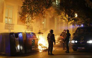 La Policía carga en Madrid tras la concentración de apoyo a Gamonal
