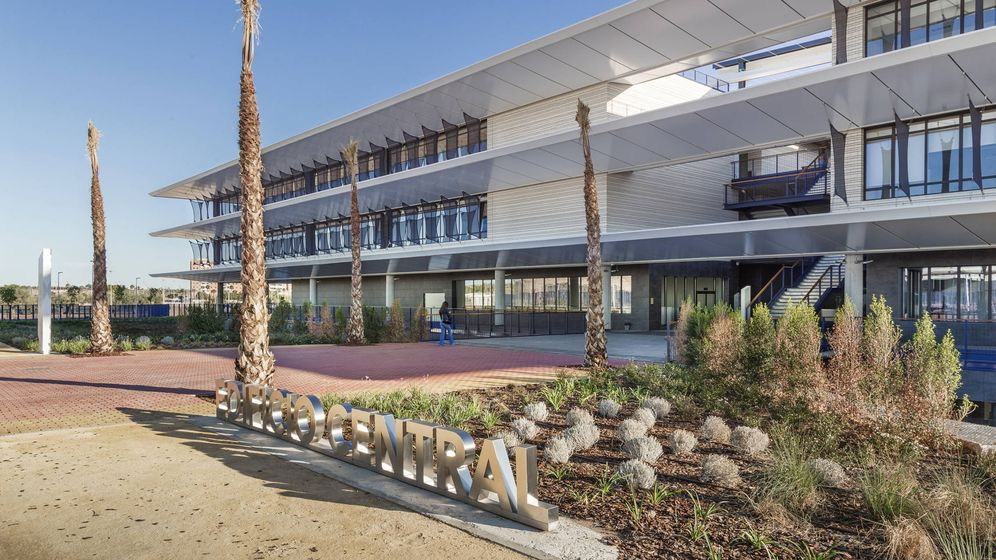 Foto: Nuevo campus de Loyola en Dos Hermanas. (Universidad Loyola)