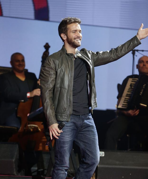 Foto: Pablo Alborán en un concierto (Gtres)