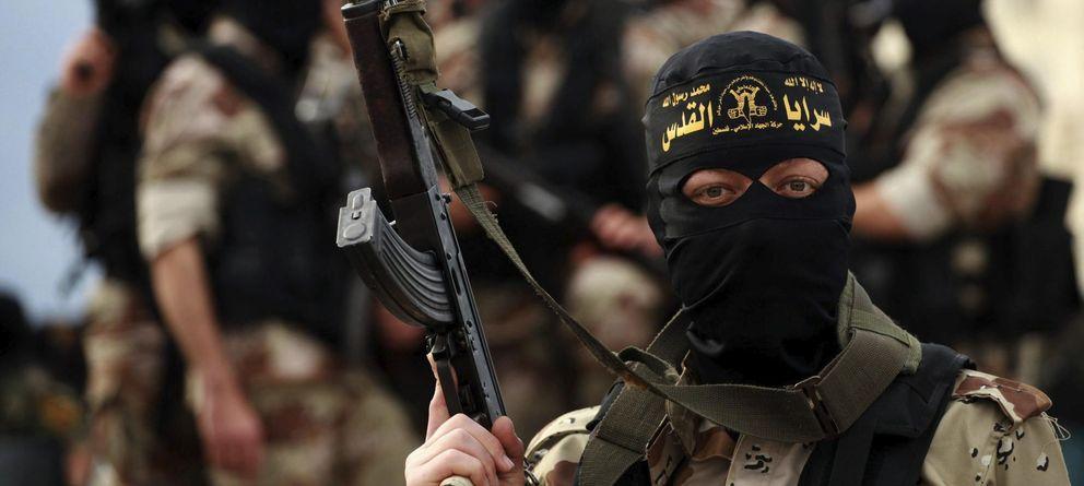 Foto:  Un militante de la yihad islámica. (EFE)