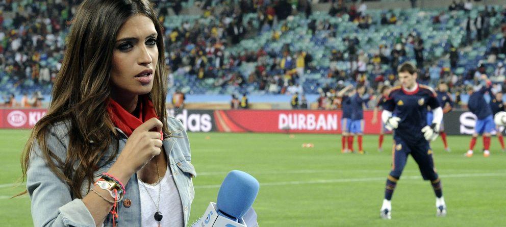 Foto: Carbonero, durante el Mundial de 2010 (Gtres)