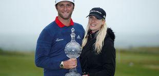 Post de Jon Rahm sigue mejorando al golf pero no volverá a jugar al tenis con su novia