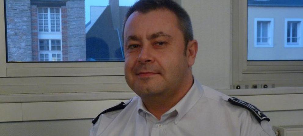 Foto: Helric Fredou, de 45 años, subdirector de la policía judicial de la localidad francesa de Limoges
